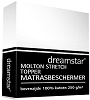 Dreamstar molton Topper stretch matrasbeschermer