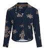 Essenza Pyjama top Senna Lauren indigo blauw