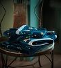 Pip Studio badgoed Les Fleurs donkerblauw