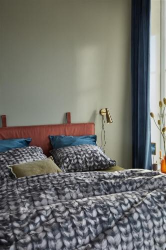 At Home by Beddinghouse dekbedovertrek Gladstone antraciet